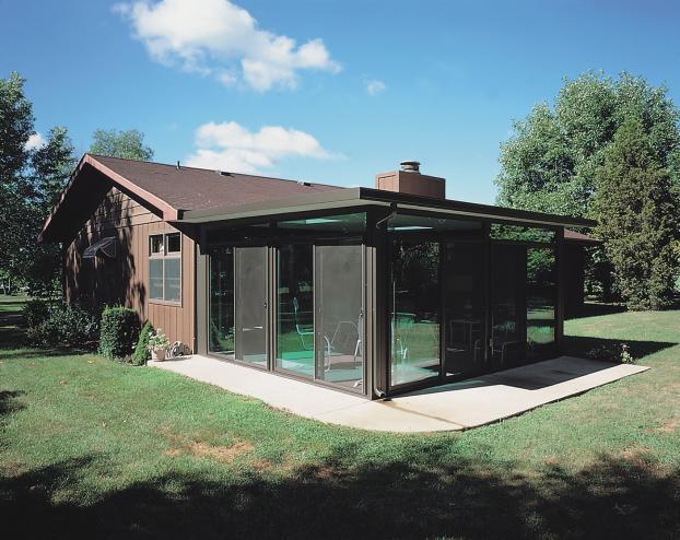Bronze color Patio Enclosure