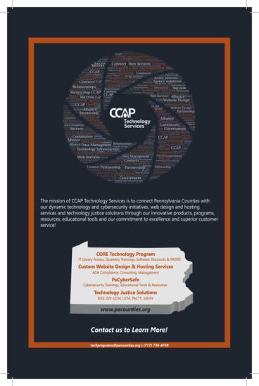 CCAP 2019 Print Material