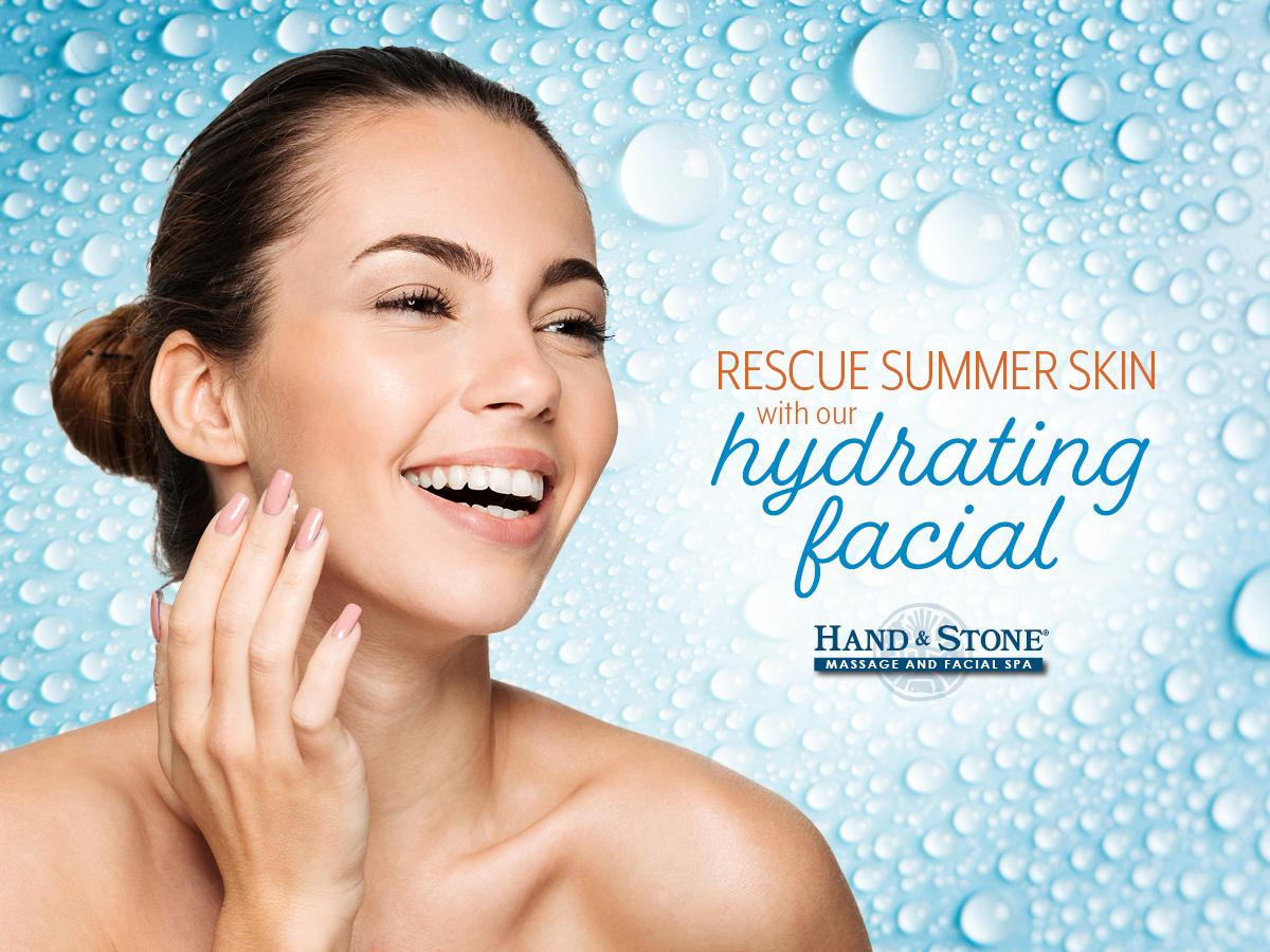 Special $99.95!!   Hydrating Facial w/ LED Phototherapy and Cold Stone Face Massage
