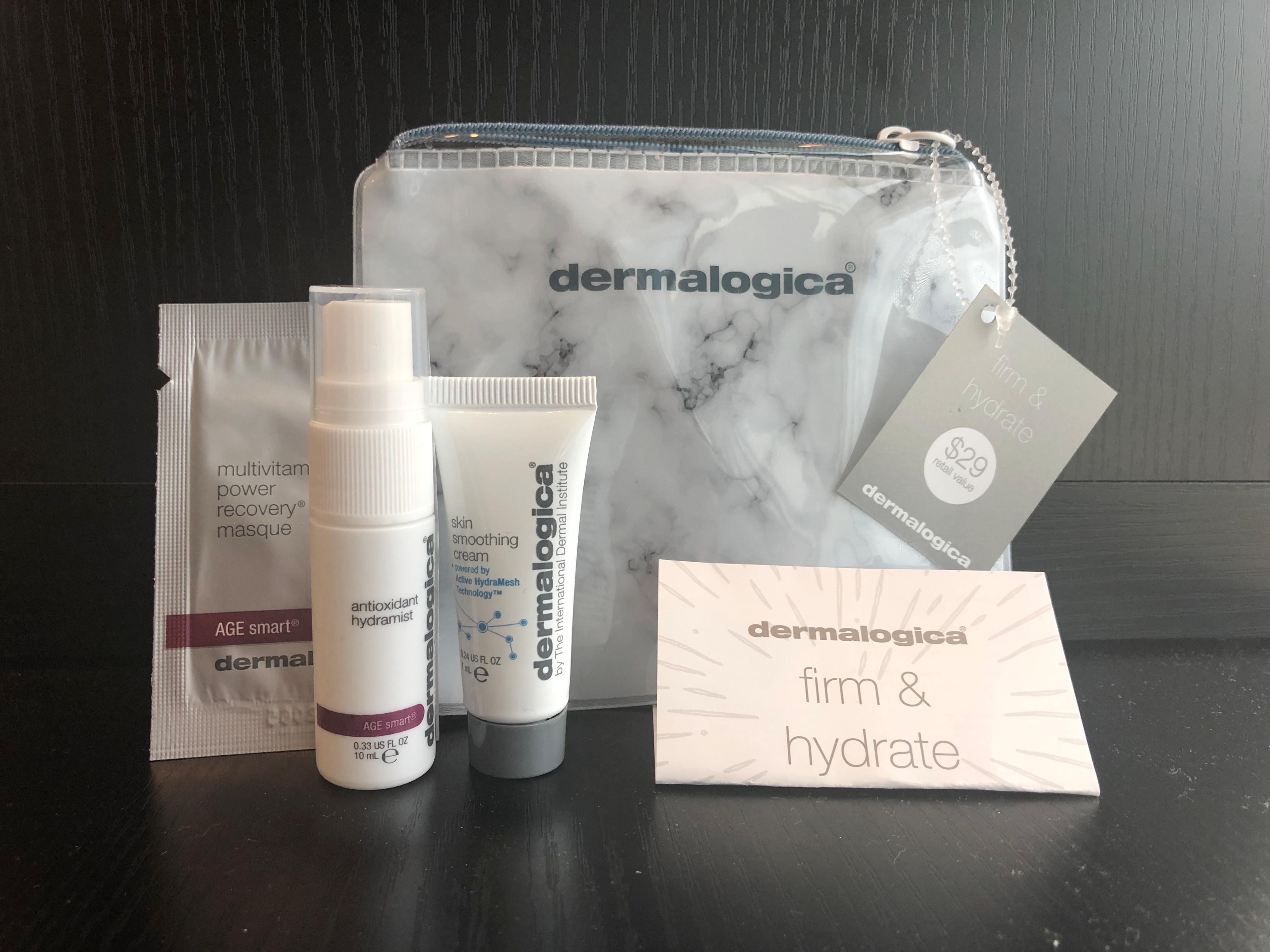 Free Dermalogica Gift with our July Hydrating Facial Special!  Regular $29