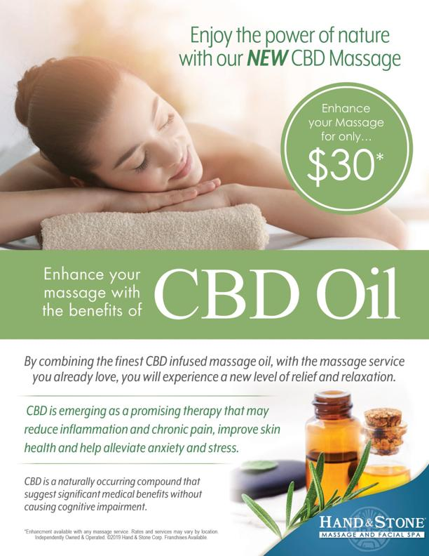 New Service Spotlight - CBD Oil Massage