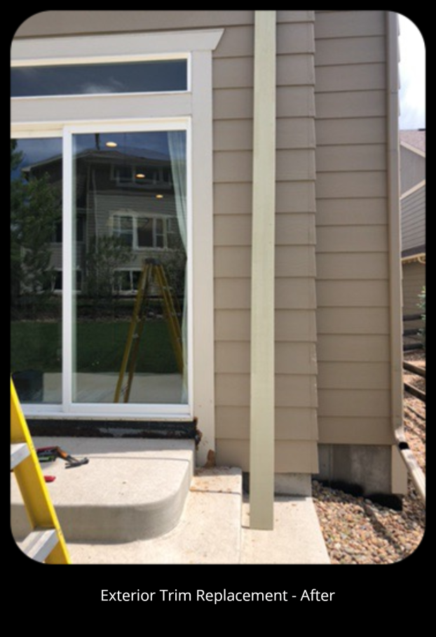 Exterior Trim Replacement - After - Aurora, CO