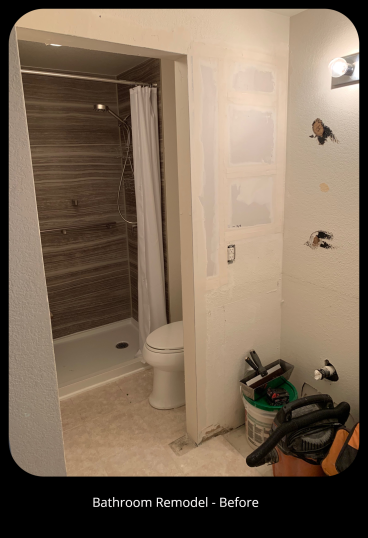 Bathroom Remodel - Before