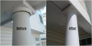 Porch Column Repair ~ Hanover, MD