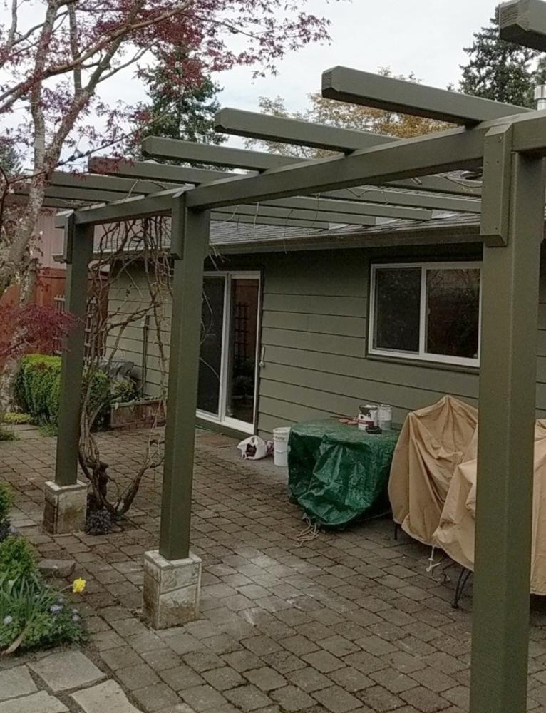 A Pergola For Southwest Portland