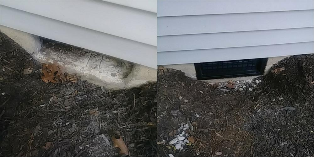 Exhaust Vent ~ Columbia, MD