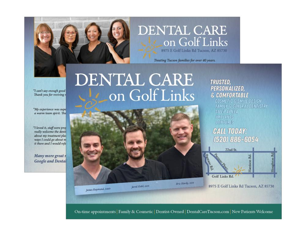 Dental Care on Golf Links EDDM