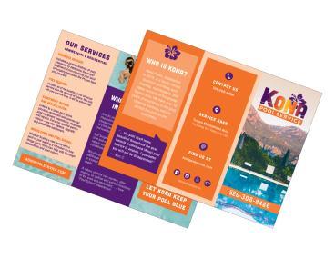 KONA Pool Service Brochure