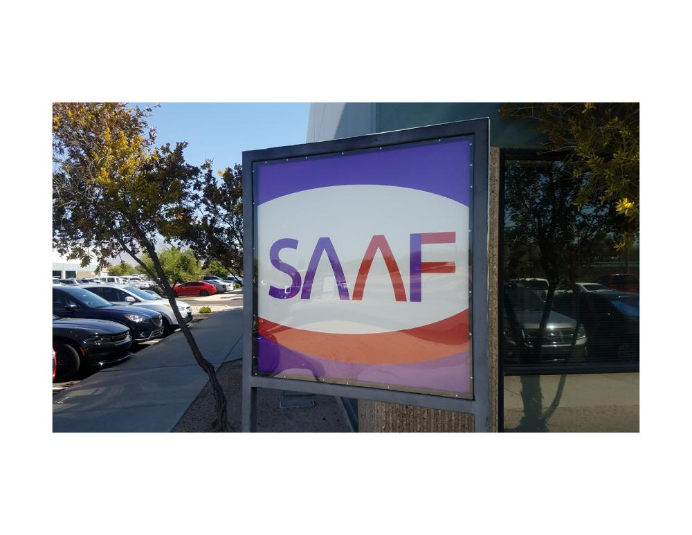 SAAF Outdoor Sign