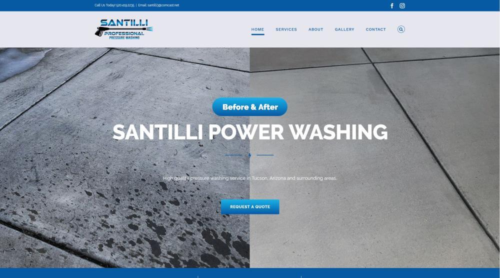 Santilli Power Washing