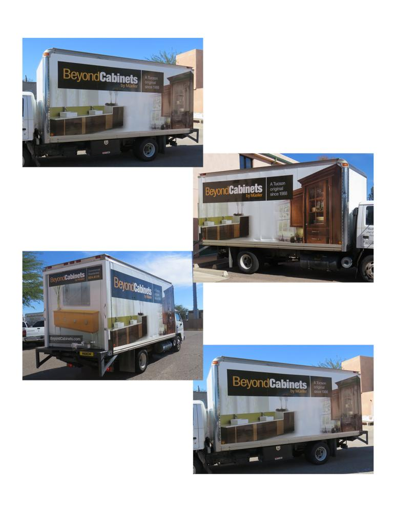 Beyond Cabinets Box Truck