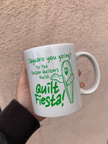 Tucson Quilters Mug