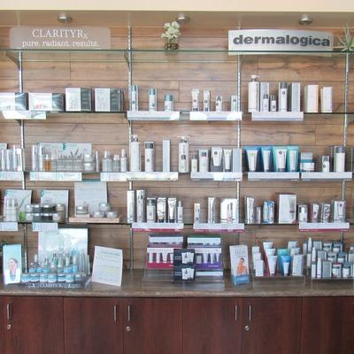 Retail Area for Skin Care