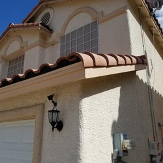 After Garage Trim Work Done Las Vegas NV