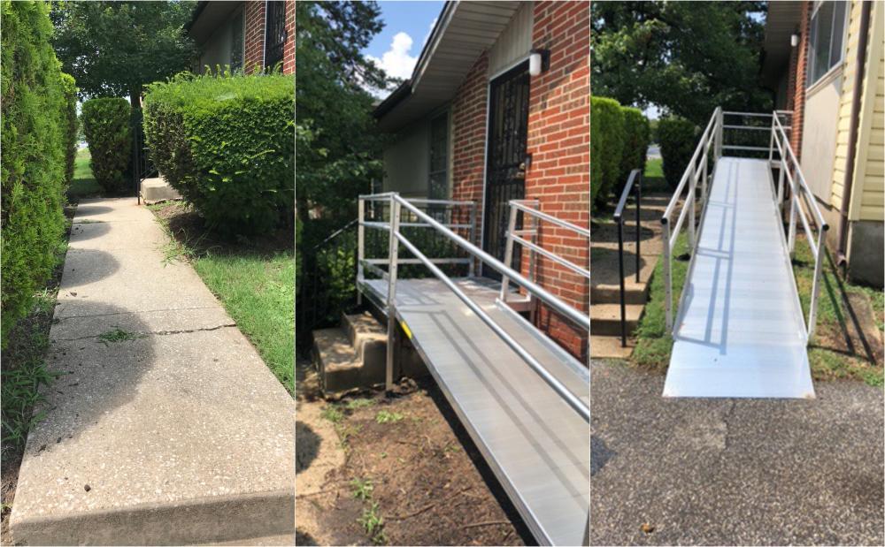 Ramp Installation ~ Windsor Mill, MD