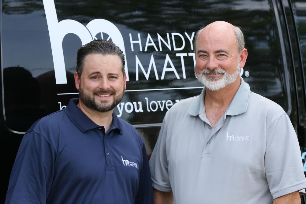 The leaders of Handyman Matters of South Charlotte