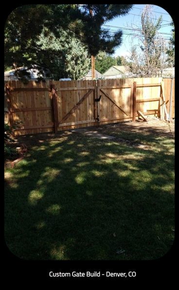 Custom Gate Build - Denver, CO