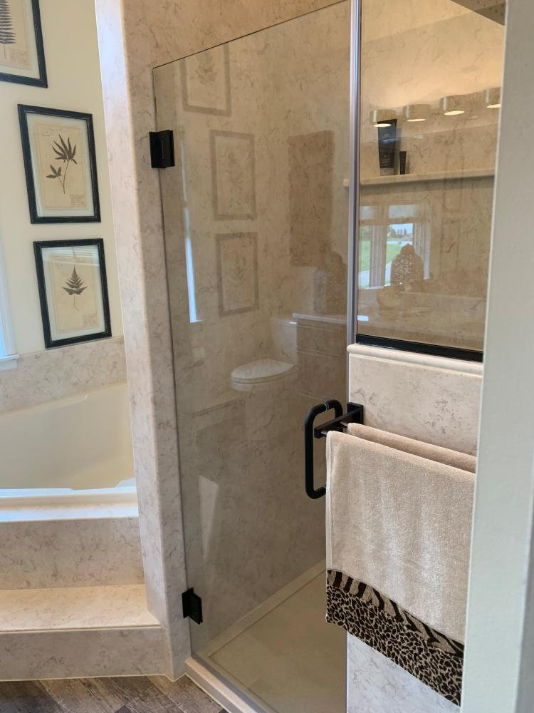 Bathroom remodel, Bathroom renovation, flooring, large format tile, 12x24