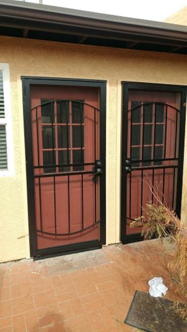 After- New Doors & Security Doors