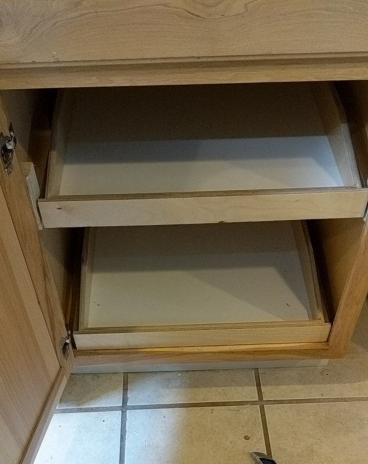 Kitchen Cabinet Pullouts in NE Portland