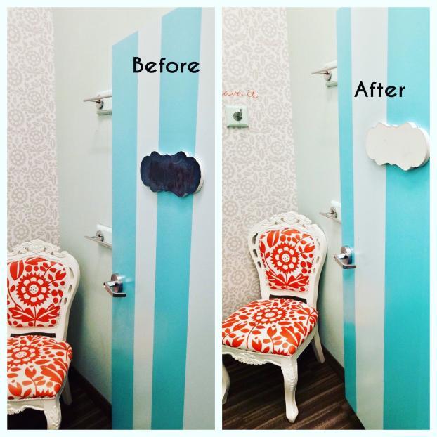 Commercial Fitting Room Door Repair