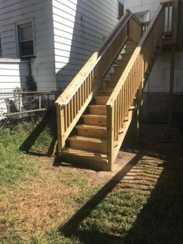 Deck Stairs Constructed in Wilkes-Barre