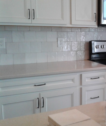 Installed Backsplash In Kitchen In Pickerington