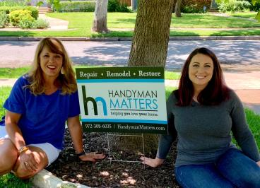 Office team: Owner Stacy Huston & Office/Scheduling Manger Ruth Chustz