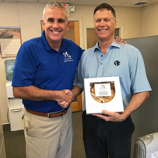 Pie in July 2019
