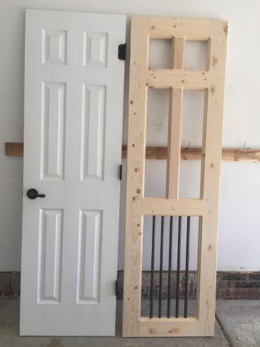 Dog Room Dutch Door