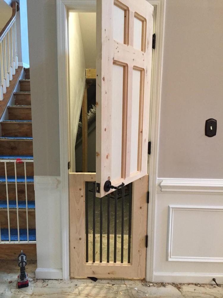 Huntersville Dutch Door for Dog room