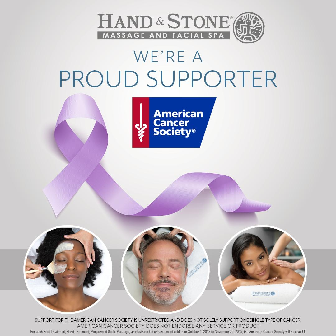 Treat yourself while helping build awareness and fight cancer with the American Cancer Society
