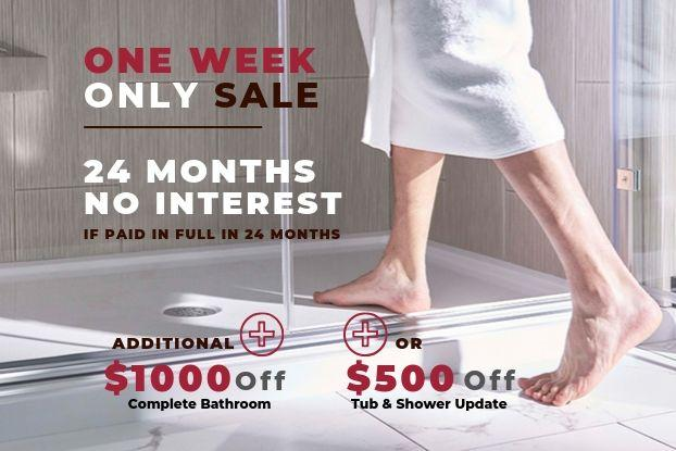 24 Months No Interest if Paid in Full in 24 Months + up to $1000 Off See Offers for Complete Details. Fill out our form to schedule your in-home consultation, to be eligible for this promo.