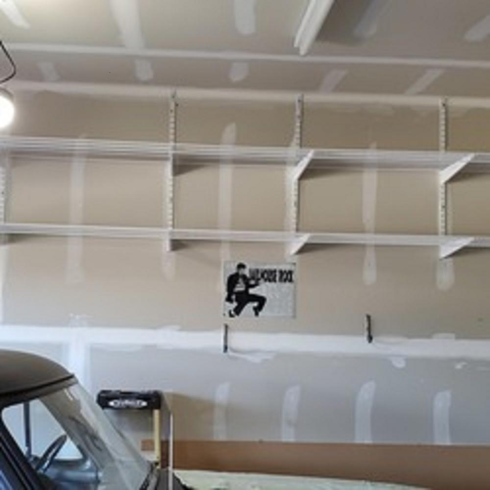 Garage Shelves Added to new Home in Mooresville, NC