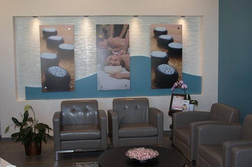 Hand & Stone - Waiting Room
