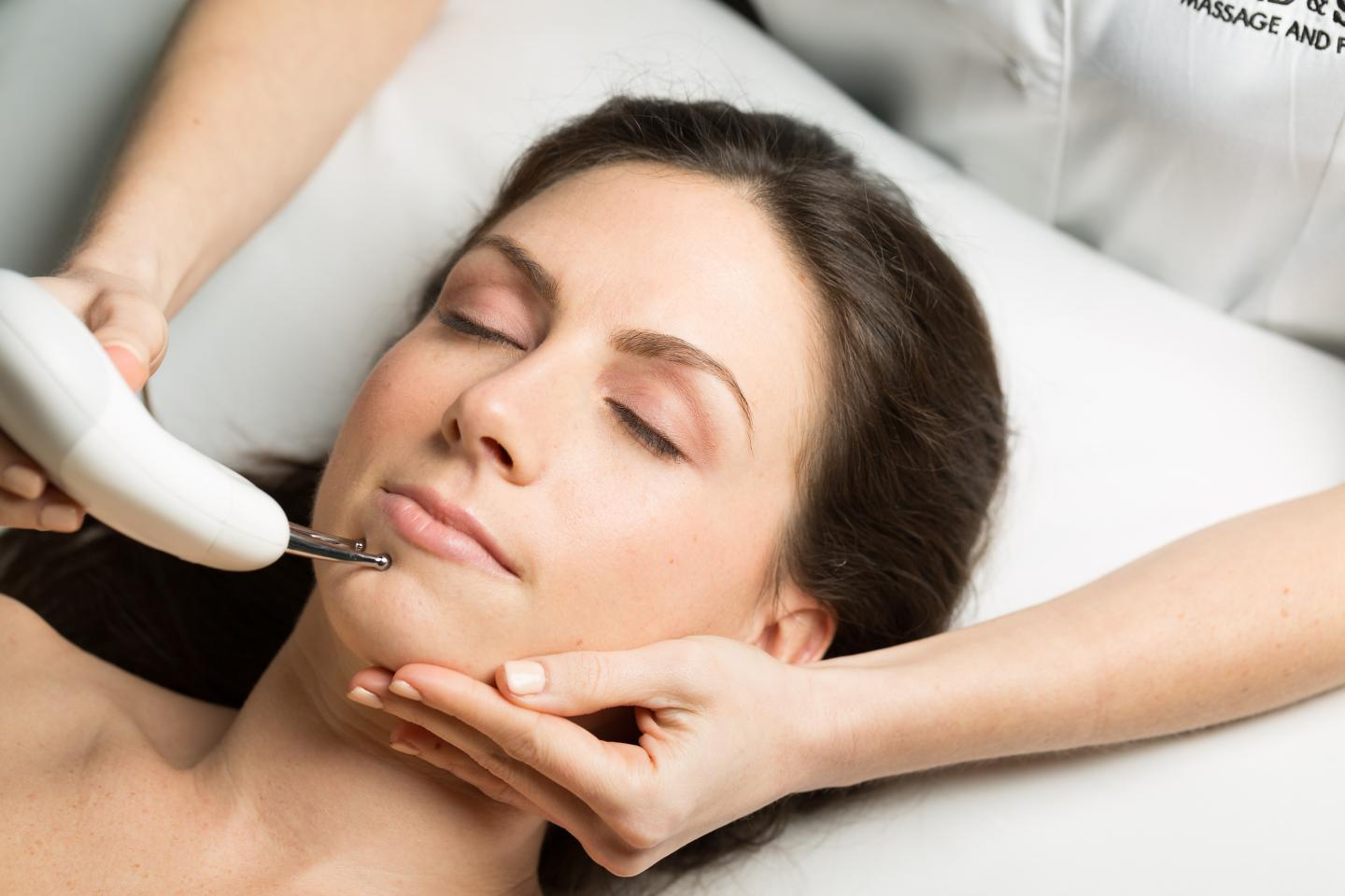 Nuface Microcurrent Therapy can be combined with our facials