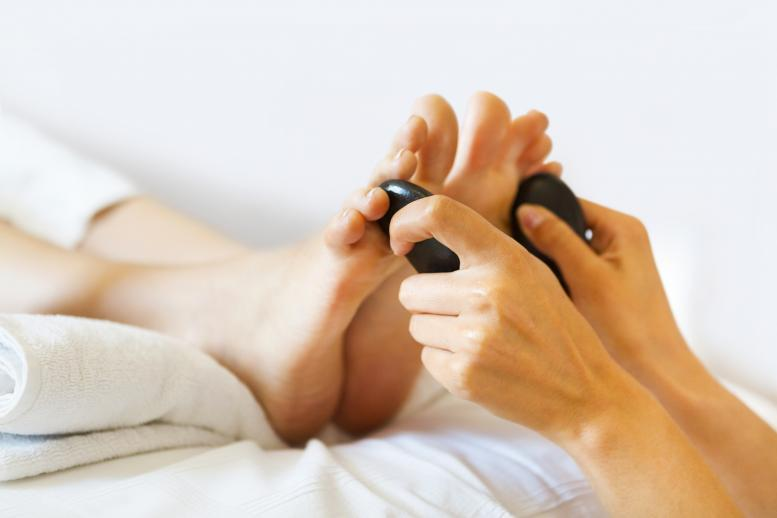 Targeted Hot Stone Hand or Foot Massage