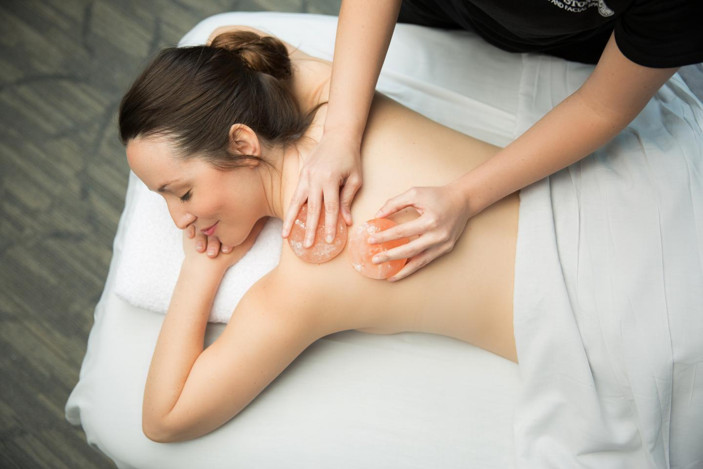 Himalayan Salt Massage Soothing, healing and relaxing