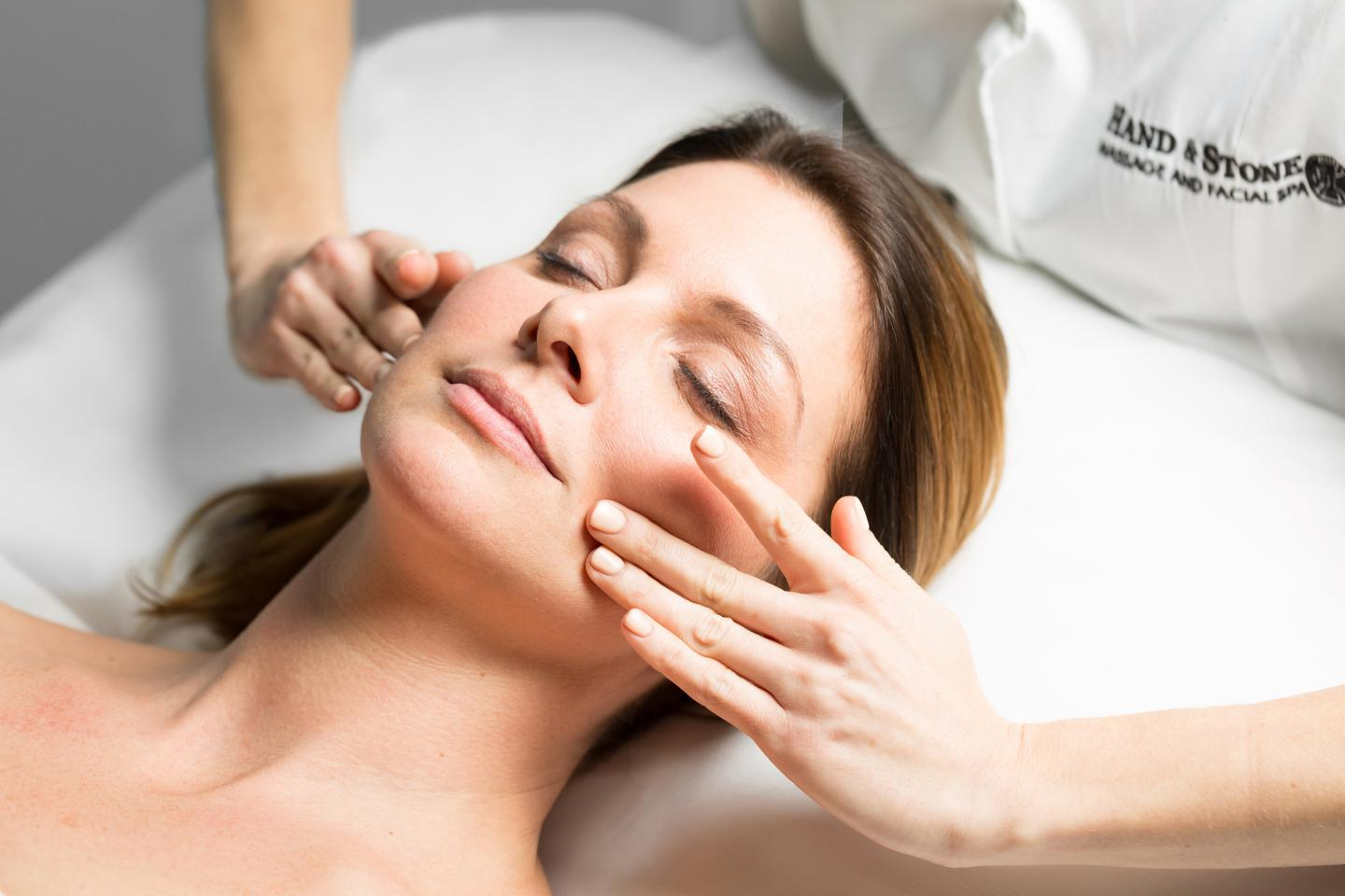 We offer various types of facials.