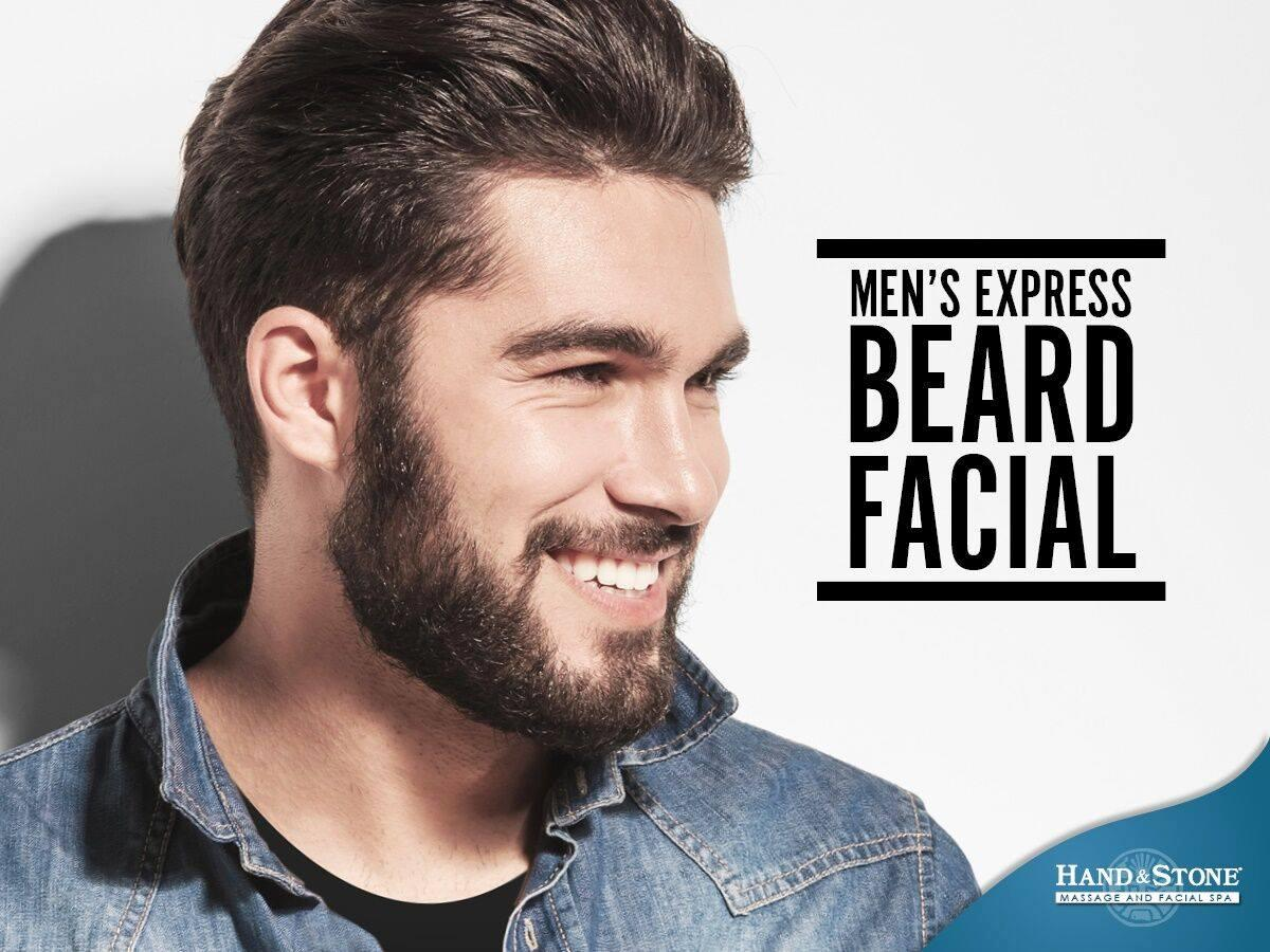 Men's Beard Facial