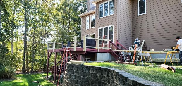 Davidson, North Carolina - Deck Refresh Start