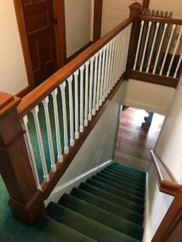 Stair Handrail Installed in West Wyoming