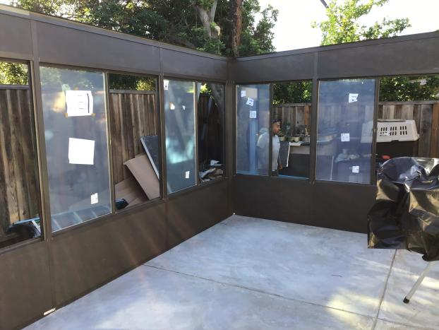 Series 230 Sun and Shade Studio Sunroom