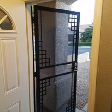 Security door installation Las Vegas NV