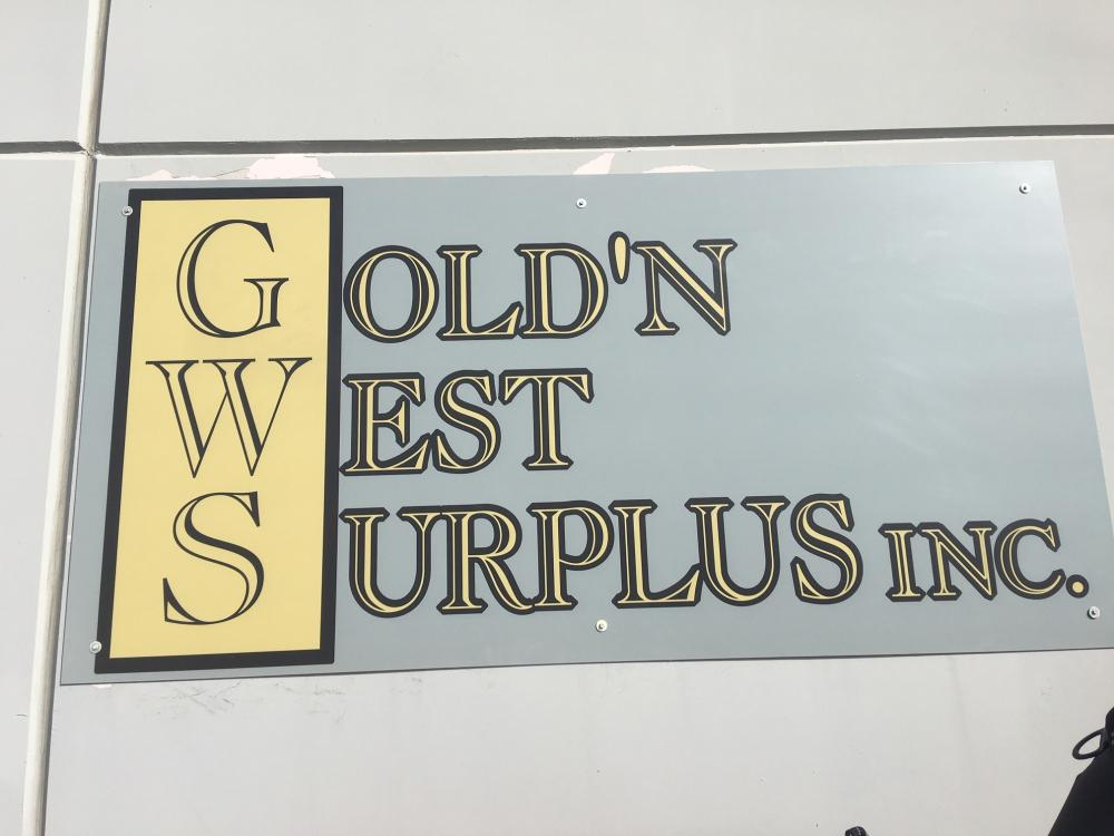 Gold'n West Surplus Inc