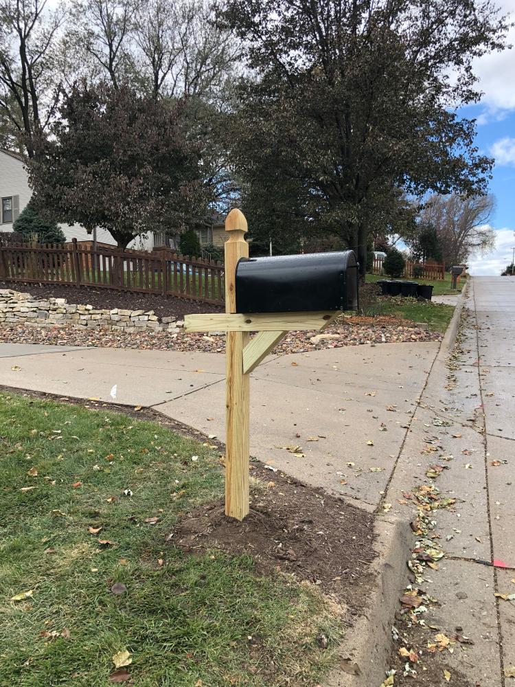 Mailbox Install