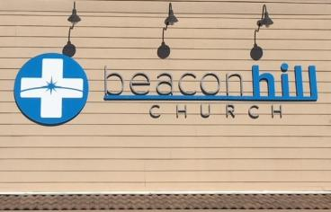 Beacon Hill Church Signage