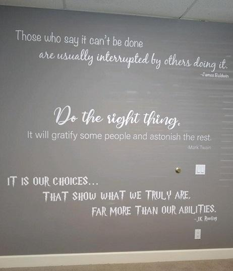 Wise Wall Graphic