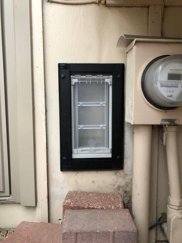 New Pet Door Install