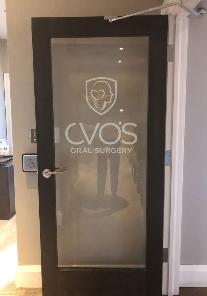 CVOS Interior Frosted Vinyl Windows & Doors